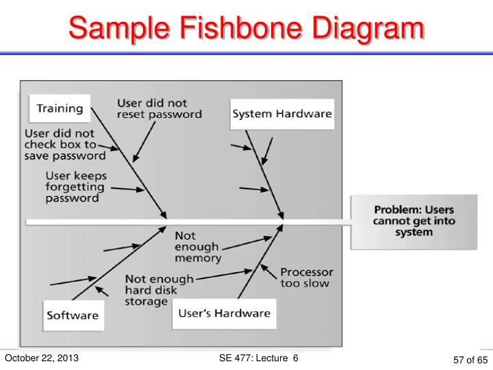 Sample Fishbone Diagram