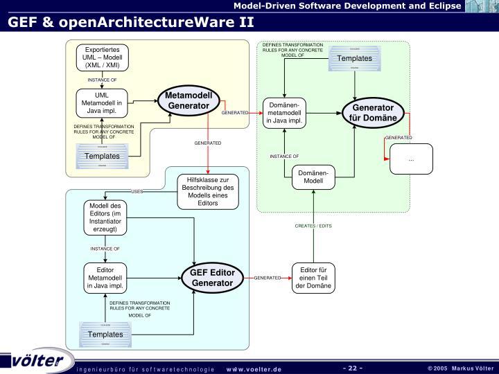 GEF & openArchitectureWare II