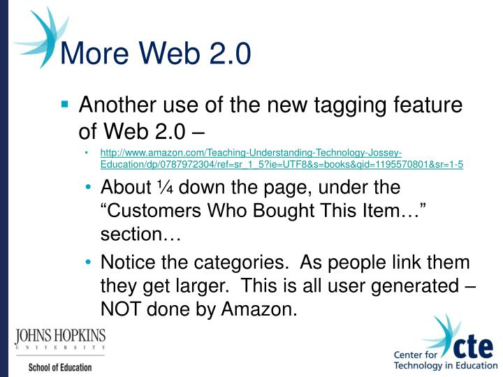 More Web 2.0