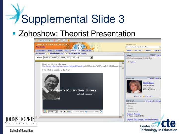 Supplemental Slide 3
