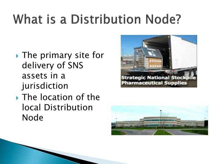 What is a Distribution Node?