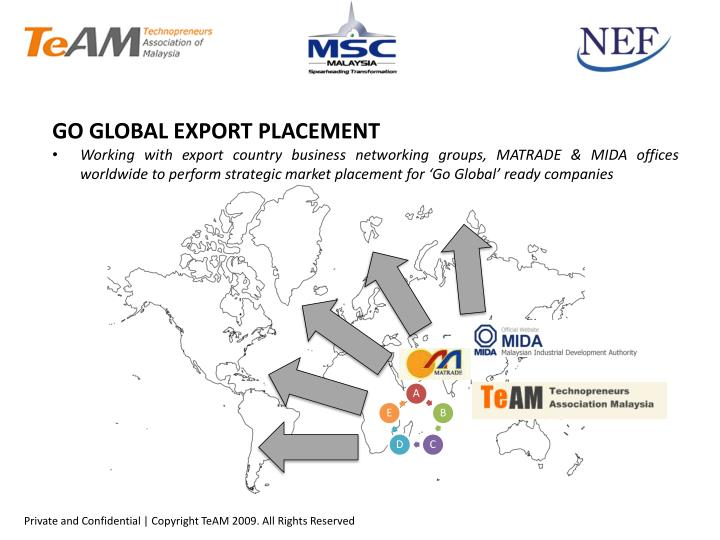 GO GLOBAL EXPORT PLACEMENT