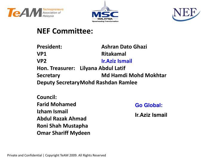 NEF Committee: