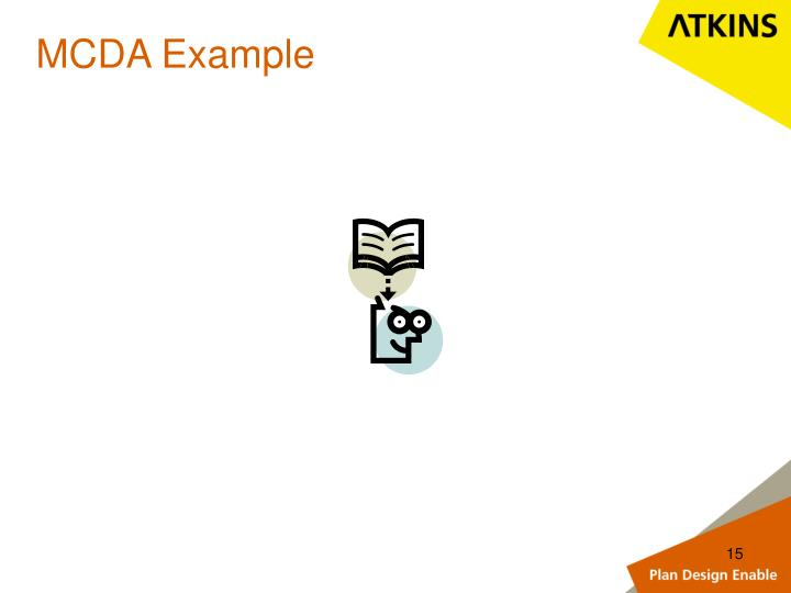 MCDA Example