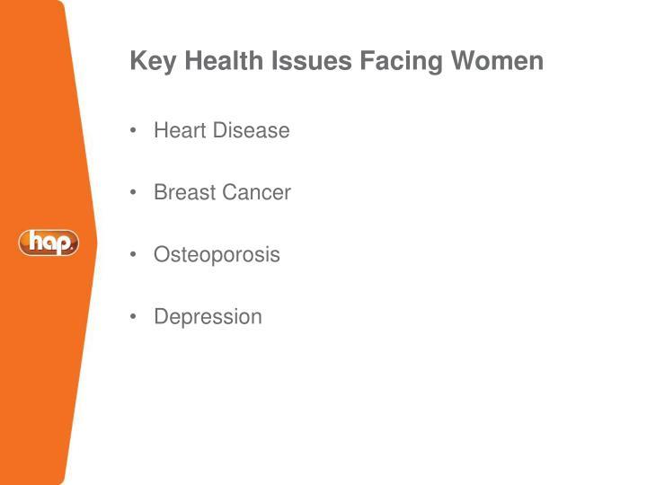 Key Health Issues Facing Women