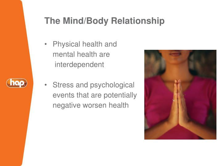 The Mind/Body Relationship