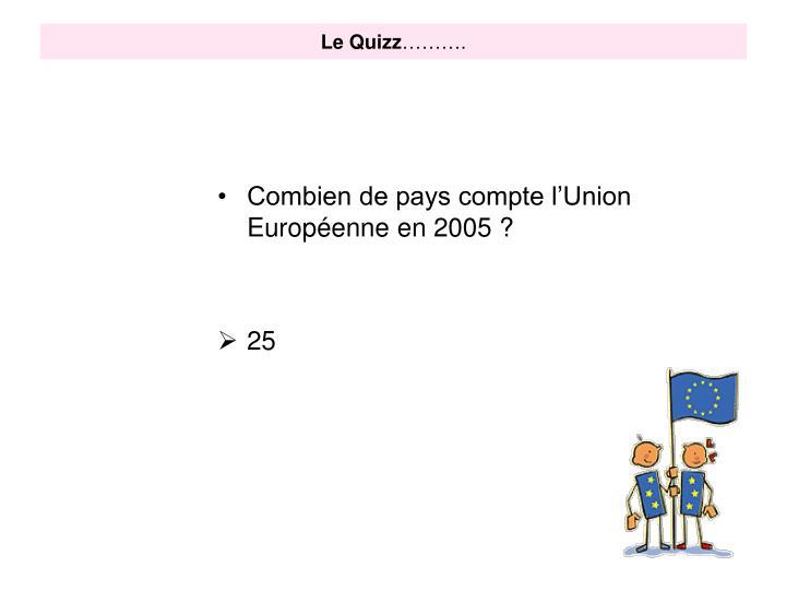 Le Quizz