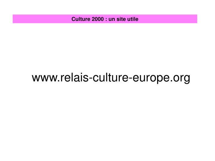 www.relais-culture-europe.org