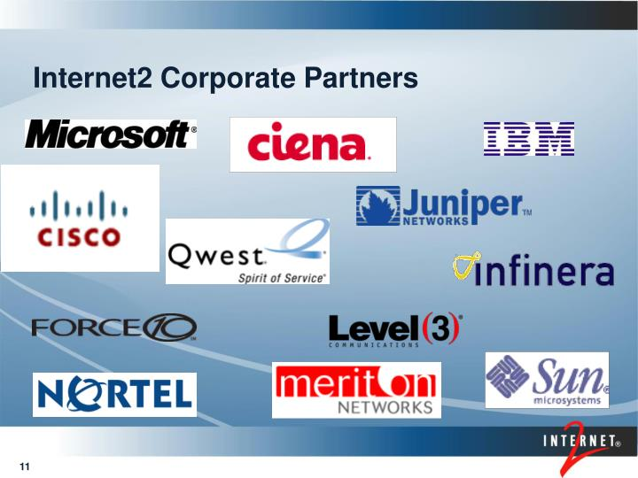 Internet2 Corporate Partners