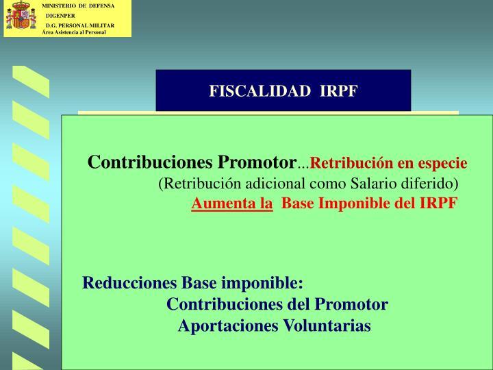 FISCALIDAD  IRPF