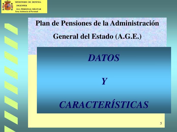 Plan de Pensiones de la Administración