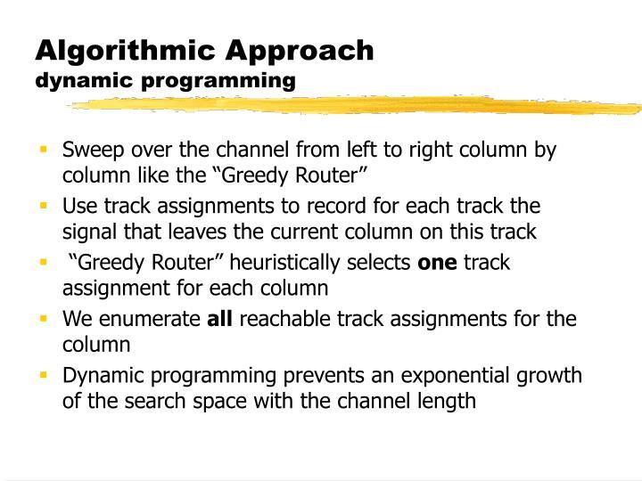 Algorithmic Approach