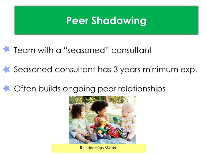 Peer Shadowing