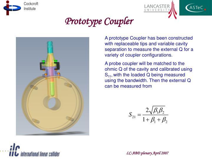 Prototype Coupler