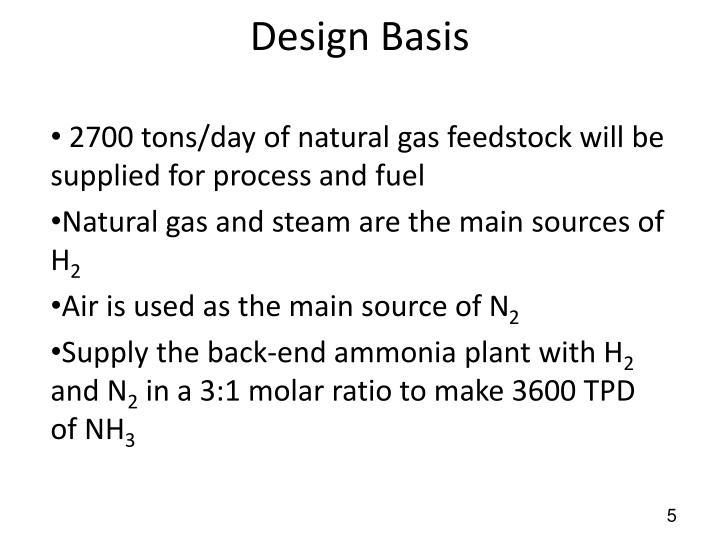 Design Basis