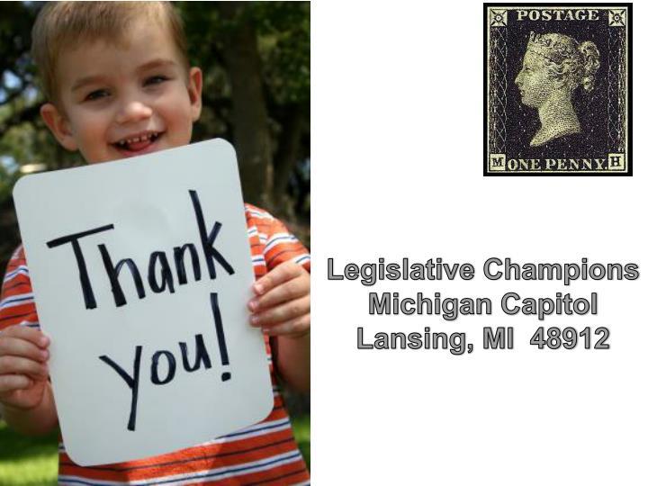 Legislative Champions