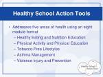 healthy school action tools