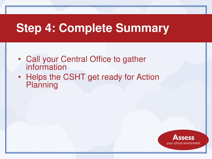 Call your Central Office to gather information