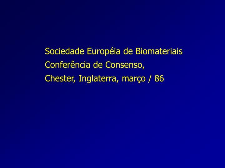 Sociedade Européia de Biomateriais