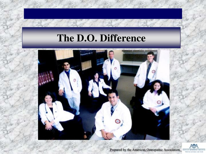 the d o difference