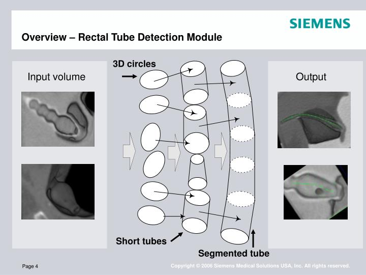 Overview – Rectal Tube Detection Module