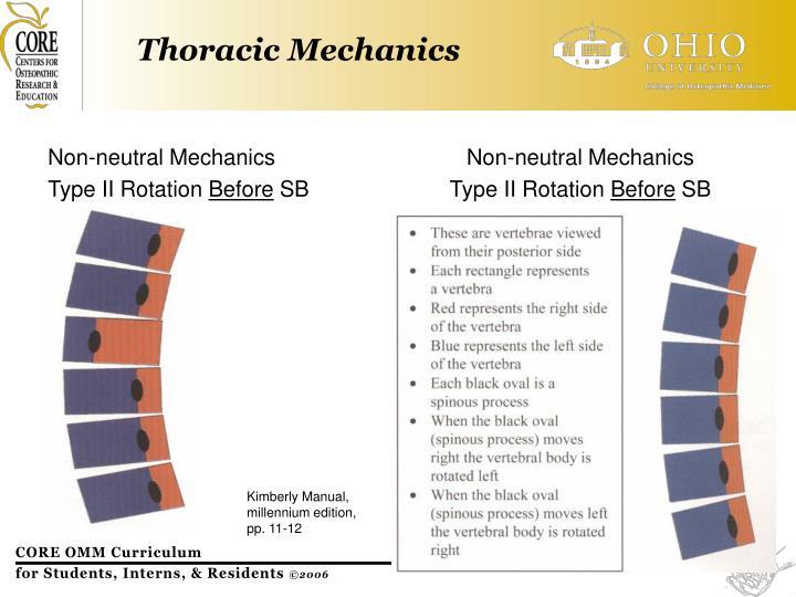 Non-neutral Mechanics