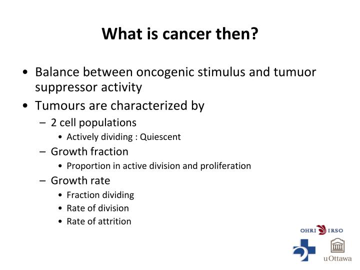 What is cancer then?