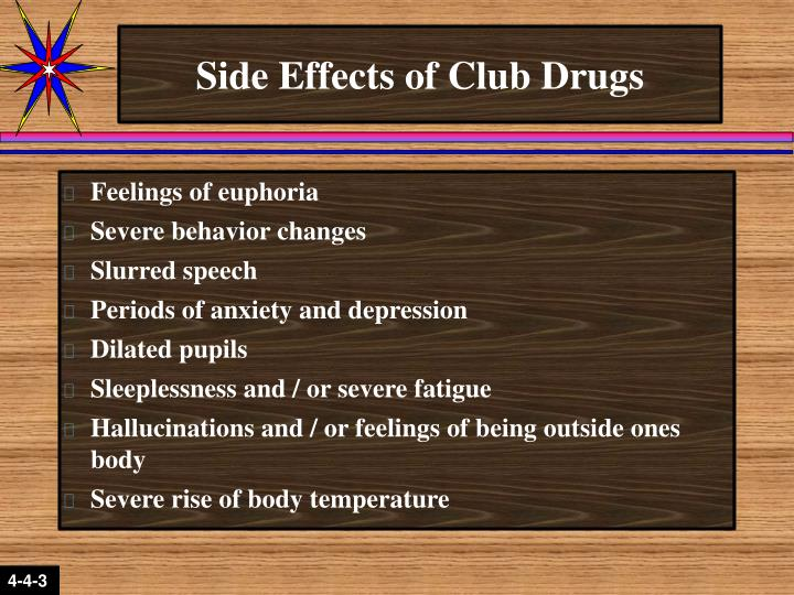 Side Effects of Club Drugs