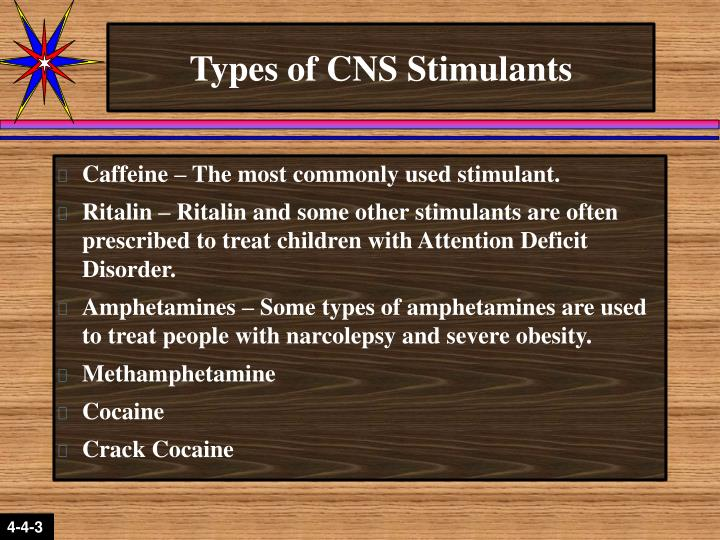 Types of CNS Stimulants