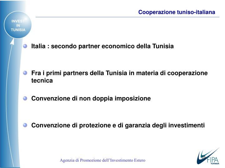 Cooperazione tuniso-italiana