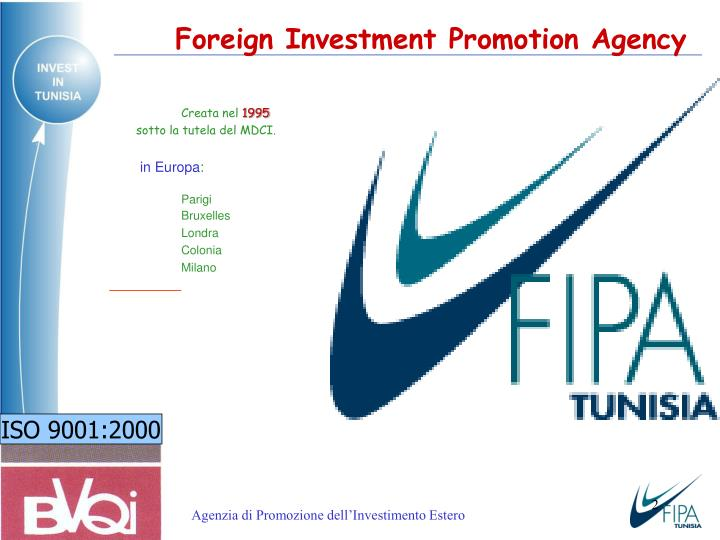 Foreign Investment Promotion Agency