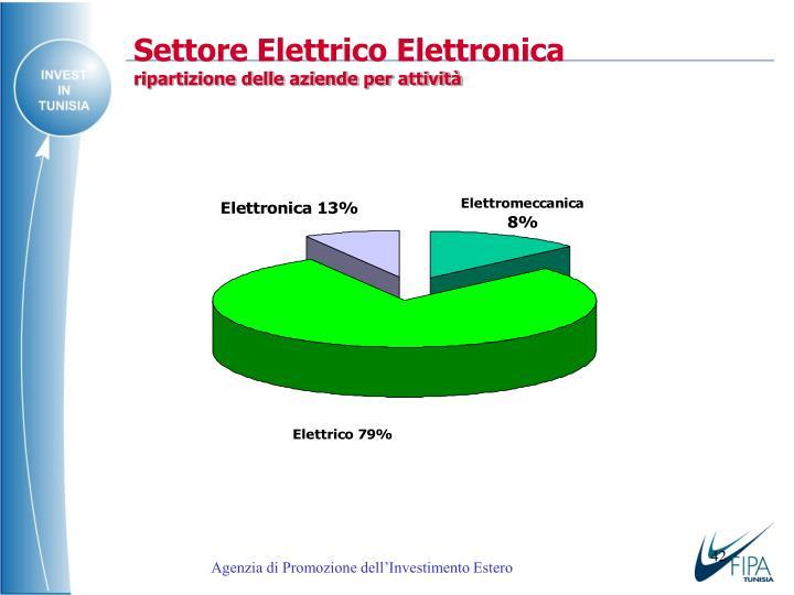 Settore Elettrico Elettronic