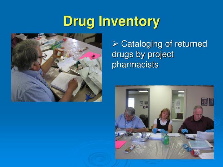 Drug Inventory