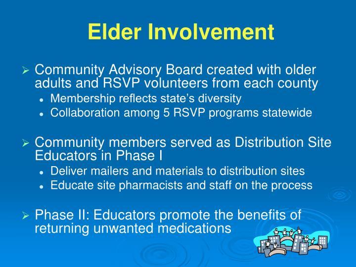 Elder Involvement