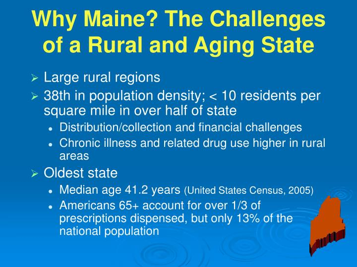 Large rural regions