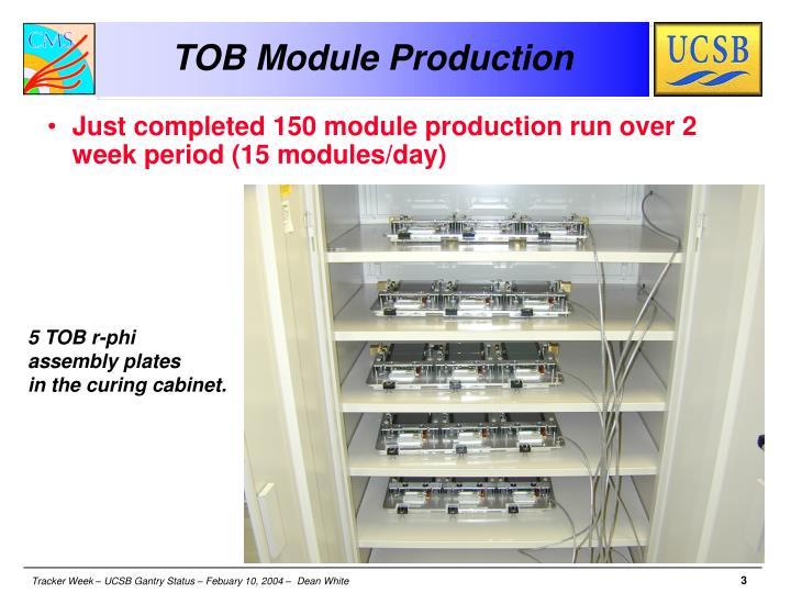 TOB Module Production