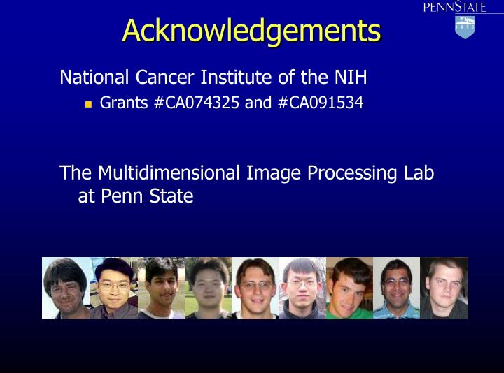 National Cancer Institute of the NIH