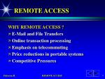remote access1