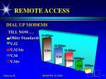 remote access11