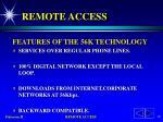 remote access14