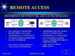 remote access15