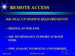 remote access16