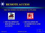 remote access17
