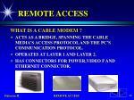 remote access23