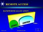 remote access25