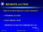 remote access28