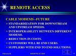 remote access40