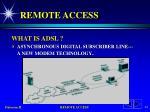 remote access42