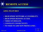 remote access43
