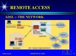 remote access44
